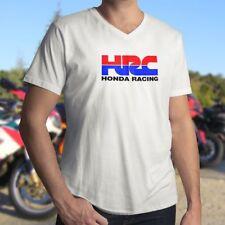 Honda Racing Corporation HRC Motorcycle MotoGP Mens Unisex V-Neck Tee T-Shirt