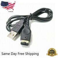Nintendo GBA SP AGS-001 AGS-101 Compatible USB Charge Charger Cable Cord US