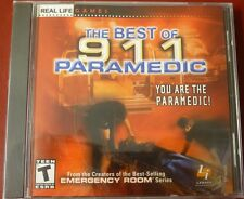 Video Game PC The BEST of 911 Paramedic NEW SEALED