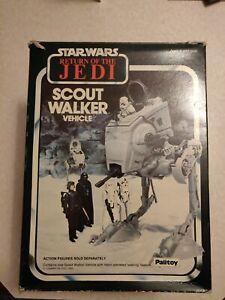 Vintage Star Wars Scout Walker Vehicle in Original Box 1983
