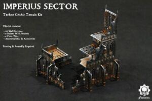 Warhammer 40k Imperius Sector Techno Gothic Ruins Terrain Necromunda Kill Team