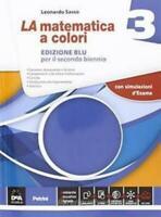 La Matematica a colori 3 Edizione BLU, Sasso, Petrini codice:9788849421248