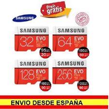 Tarjetas micro SD Samsung EVO PLUS 32Gb 64Gb 128Gb. Microsd