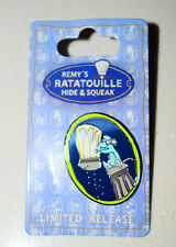 NEW Disney 2015 Food & Wine Remy's Ratatouille Hide & Squeak Salt Spices Pin