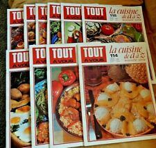French Cooking Magazine Tout A Vous La Cuisine de A a Z series In French 11 1960