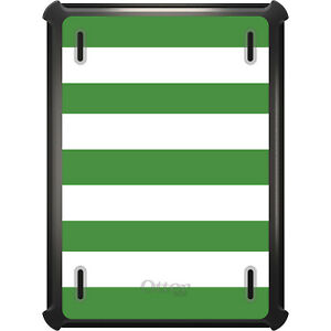 OtterBox Defender for iPad Pro / Air / Mini -  Green & White Bold Stripes