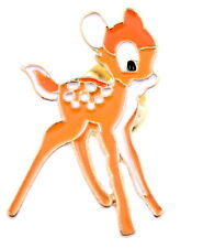 Super cute enamel spot deer brooch / pin