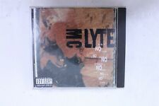 Mc Lyte Ain't No Other Music Cd with Case and Inserts