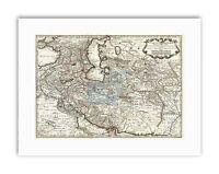 MAP ANTIQUE MIDDLE EAST IRAN PERSIA DE LISLE Poster Canvas art Prints