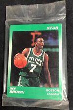 1991 Star Dee Brown Boston Celtics Complete 11 Card Set SEALED