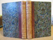 FACULTE DE MEDECINE DE MONTPELLIER 1832 J-P BATIGNE MEDECINE PRATIQUE 2 VOLUMES