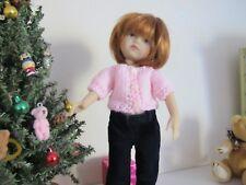 """Darling little  sweater made for 10"""" Boneka  Effner SALE BUY 1 GET 1  1/2 OFF"""