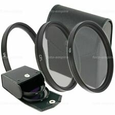 UV Filter & ND 4 Filter Graufilter & CPL Filter Polfilter für 52mm 58mm 72mm