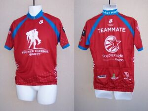 Wounded Warrior Project NEW Mens Bike Cycling Jersey Size S L 4XL Soldier Ride