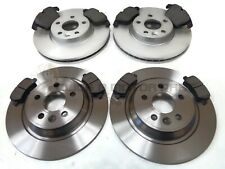 VOLVO V60 2010-2015 FRONT & REAR BRAKE DISCS AND PADS SET NEW (READ DESCRIPTION)