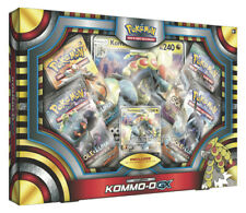 Box Pokemon SET KOMMO-O GX con carta Kommo-o-GX + Carta Gigante + 4 Buste ITA