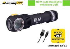 New Armytek Elf C2 USB Cree XP-L 1050 Lm LED Headlight Flashlight ( No battery )