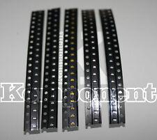 0603 Led SMD Kit da 100 Pezzi 20 Pezzi X 5 Colori Rosso Verde Blu Giallo Bianco