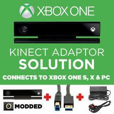 KINECT V2 WITH ADAPTER FOR XBOX ONE S , X & PC + VRCHAT - INCLUDES CAMERA