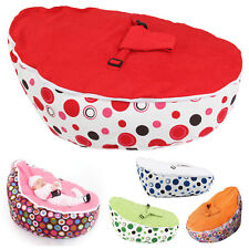 Baby Bean Bag with 2 Removable covers&Safety Harness Without Filling