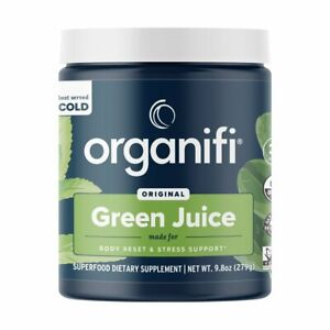 NEW Organifi Green Juice Superfood Powder 30 Day Supply 9.8 Oz SEALED EXP 02/23