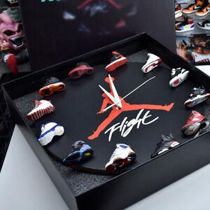 Jordan Wall Clock with 3D Mini Sneakers - Sneakerhead / Hypebeast Decor /