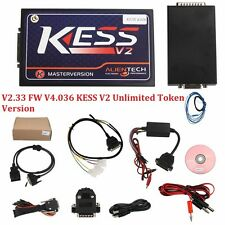 New V2.33  Firmware V4.036 KESS V2 Unlimited Token Version best quality