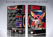 PARODIUS. NTSC VERSION. Box/Case. Super Nintendo. BOX + COVER. (NO GAME).