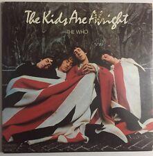 "THE WHO ""The Kids Are Alright"" original PROMO Double LP 1979 (MCA MCA2-11005)"
