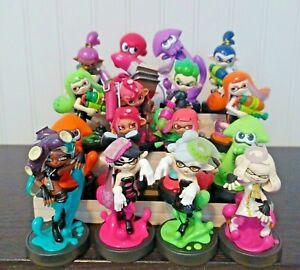 Amiibo Splatoon Series Figures Nintendo Inkling Boy Octoling Girl Callie Marie