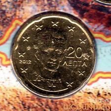 Grèce 2012 - 20 Centimes d'euro 20 000 exemplaires Provenant du coffret BU RARE