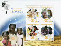 Gabon 2018 MNH Paul Harris Rotary International 4v M/S Famous People Stamps