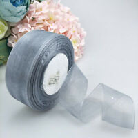 40mm Organza Ribbon Wholesale gift wrapping decoration Christmas silk GO9