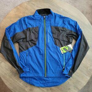 Cannondale Adult Morphis Wind Rain Jacket 4M323M/Blue Mens Size Medium
