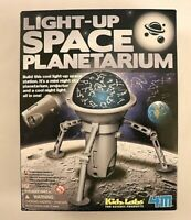 Light Up Space Planetarium Kidz Labs Projector and night light Science Projects