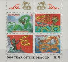 Philippines 1999 Souvenir Sheet #2651a Year of the Dragon - MNH