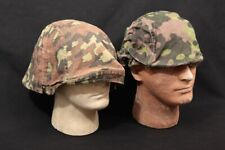 2x Wwii German Army Military M35 M40 Reversible Oak Pattern Camo Helmet Covers