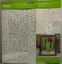 "New Cricut Foil Acetate Bejeweled Sampler 12 Sheets 12""x12"""