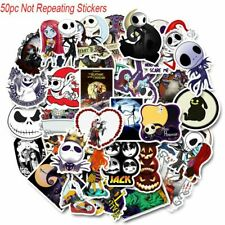 Nightmare Before Christmas Decal Vinyl Stickers Assorted Lot of 50 Pieces
