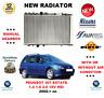 pour Peugeot 307 BREAK 1.4 1.6 2.0 16V HDI 2002> NOUVEAU Radiateur qualité