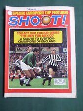 SHOOT - MAGAZINE- 9 MAY 1970 - JOHN JACKSON - JOHN HOLSGROVE - JIMMY ARMFIELD