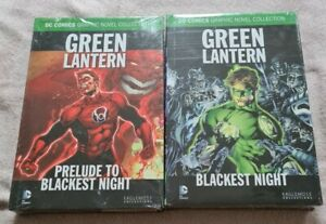 Green Lantern: Prelude to Blackest Night + Blackest Night EAGLEMOSS DC Bundle