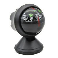 Car Boat Truck Suction Black Pocket Ball Dashboard Dash Mount Navigation Compass