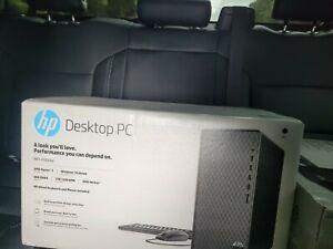 New HP M01-F0033w Desktop Tower, AMD Ryzen 3 3200G, 8GB RAM, 1TB Factory Sealed!