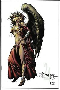 THE DARKNESS #24 CONVENTION WHITE VARIANT NM TOP COW IMAGE COMICS