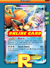 Keldeo EX - for Pokemon TCG Online ( DIGITAL ptcgo in Game Card)