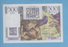 ( Ref: X.73 c) 500 FRANCS CHATEAUBRIAND 28/03/1946 (NEUF)  ETAT RARE N° suivis
