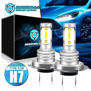 H7 Car LED Headlight 70W 8000LM Globes Bulbs Kit 6500K Xenon White Beam Lamps AU