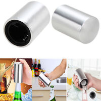 Automatic Stainless Steel Bar Wine Beer Soda Glass Cap Bottle Opener Open Tool