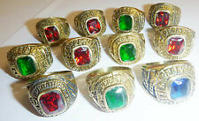 Operation Iraqi Freedom - LOT x 11 MENS RINGS, RING - US AIR FORCE - USAF - 5678